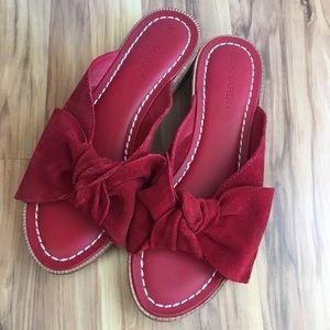 Shoes - Leather Summer Sandal Slides